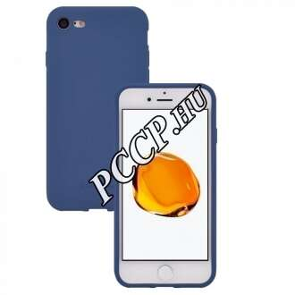 Apple Iphone SE (2020) kék szilikon hátlap