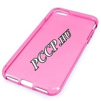 Apple Iphone SE (2020) rózsaszín vékony szilikon hátlap