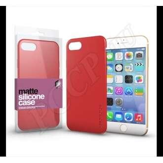 Apple iPhone SE korallpiros ultravékony szilikon hátlap - Xprotector