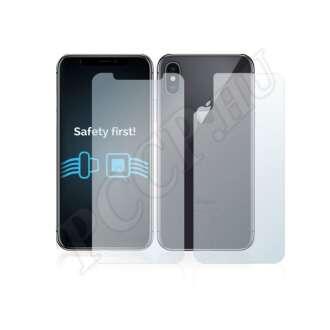 Apple iPhone X (elő- és hátlap) kijelzővédő fólia