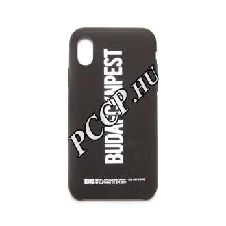 Apple Iphone X fekete design hátlap