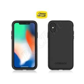 Apple Iphone X fekete védőtok