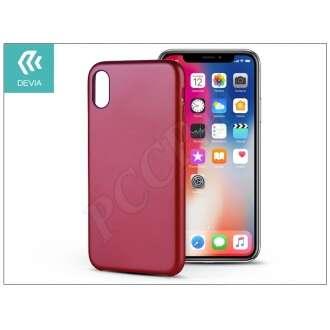 Apple Iphone X piros hátlap