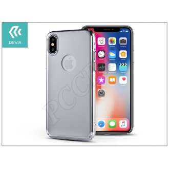 Apple Iphone X ezüst hátlap