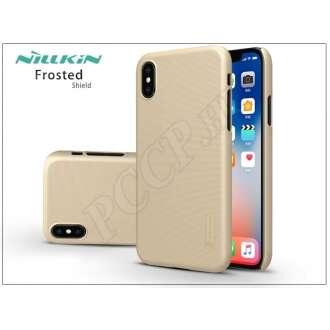 Apple Iphone X arany hátlap