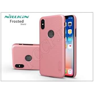 Apple Iphone X rosegold hátlap kijelzővédő fóliával