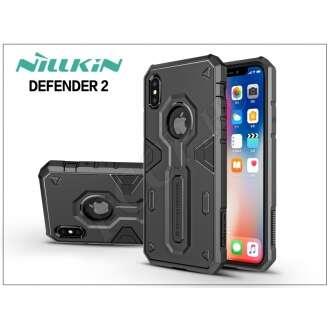 Apple Iphone X fekete ütésálló védőtok