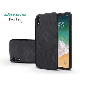 Apple Iphone Xr fekete hátlap kijelzővédő fóliával