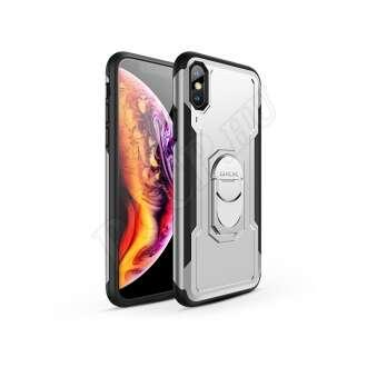 Apple Iphone XS fekete/ezüst hátlap