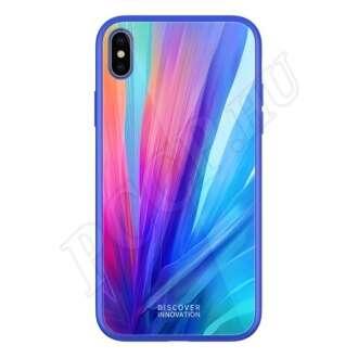 Apple iPhone Xs kék hátlap
