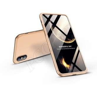 Apple Iphone Xs Max arany három részből álló védőtok