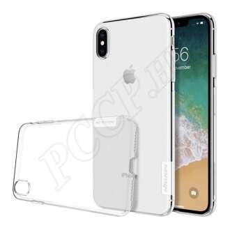 Apple iPhone Xs Max átlátszó hátlap