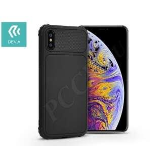 Apple Iphone Xs Max fekete szilikon hátlap