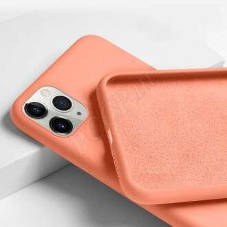 Apple Iphone Xs narancs szilikon hátlap