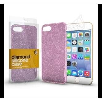 Apple iPhone XS rózsaszín szilikon hátlap - Xprotector