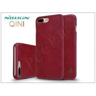 Apple Iphone 8 Plus piros oldalra nyíló flip tok
