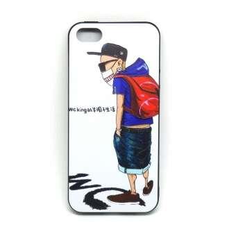 Apple Iphone 7 fiú táskával design hátlap