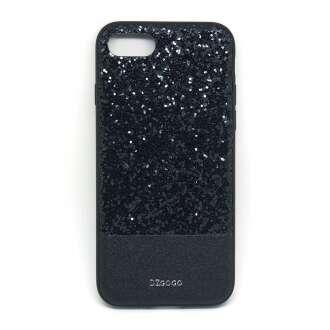 Apple Iphone 8 csillogó fekete design hátlap