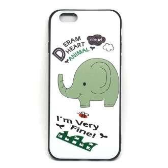 Apple Iphone 8 elefántos design hátlap