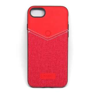 Apple Iphone 8 Plus piros elegáns hátlap