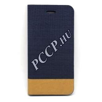 Apple Iphone 7 kék elegáns oldalra nyíló tok