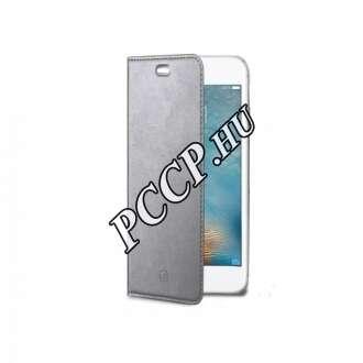 Samsung Galaxy S8 ezüst flip cover tok