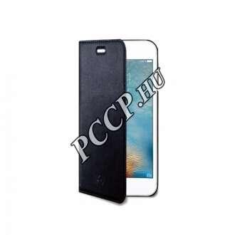 Huawei P10 fekete flip cover tok