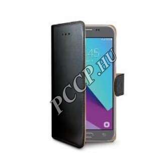 Samsung Galaxy J3 (2017) fekete book cover tok