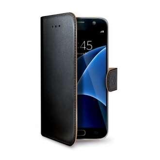 Samsung Galaxy S7 Edge fekete book tok