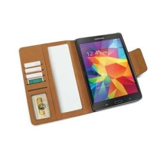 Samsung Galaxy Tab 4 8.0 fekete book cover tok