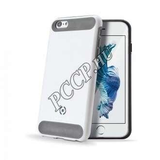 Apple iPhone 6S fehér ütésálló szilikon hátlap
