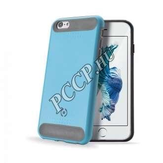 Apple iPhone 6S kék ütésálló szilikon hátlap