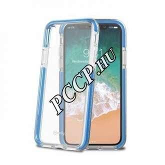 Apple Iphone X kék műanyag hátlap