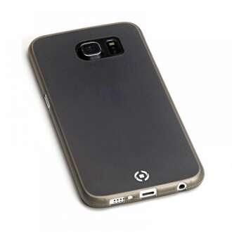 Samsung Galaxy S6 Edge+ fekete ultravékony szilikon hátlap