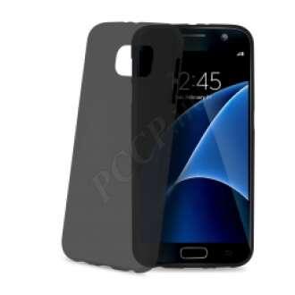 Samsung Galaxy S7 fekete ultravékony szilikon hátlap