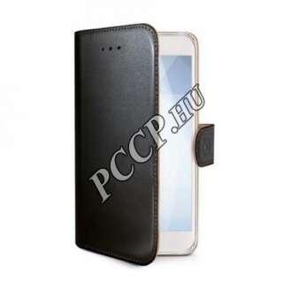 Samsung Galaxy J6 fekete oldalra nyíló tok
