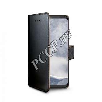 Samsung Galaxy S9 fekete oldalra nyíló tok