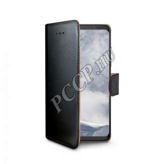 Samsung Galaxy S9 Plus fekete oldalra nyíló tok