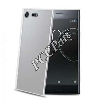 Sony Xperia XZ Premium átlátszó szilikon hátlap