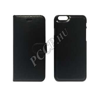 Samsung Galaxy J1 fekete flip oldalra nyíló tok