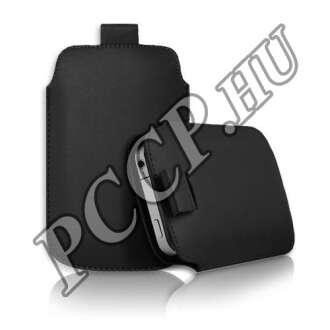 Samsung Galaxy Note 3 fekete slim bőr tok