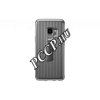 Samsung Galaxy S9 ezüst cover tok