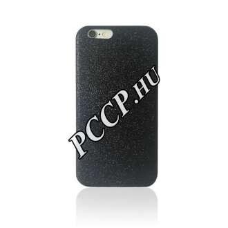 Apple iPhone 6 'glitter Case - Black' műanyag hátlap