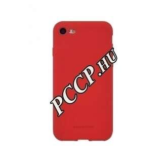 Apple Iphone 8 piros szilikon hátlap