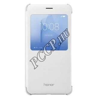 Huawei Honor 8 fehér S-View book cover tok