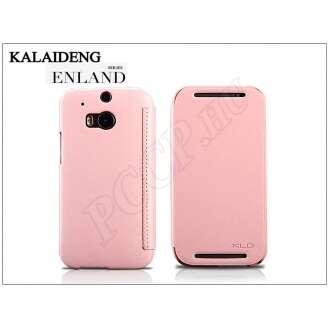 HTC One M8 pink flip tok