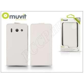 Huawei Ascend G510 fehér flip tok