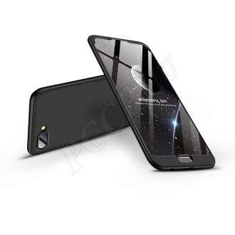 Huawei Honor 10 fekete három részből álló védőtok