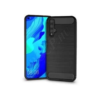 Huawei Honor 20 fekete szilikon hátlap