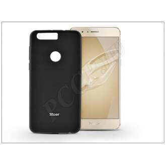 Huawei Honor 8 fekete szilikon hátlap